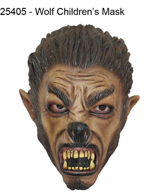 Mask Head Wolf Junior Guillotine Headless Beheaded Halloween Zombie Body Prop